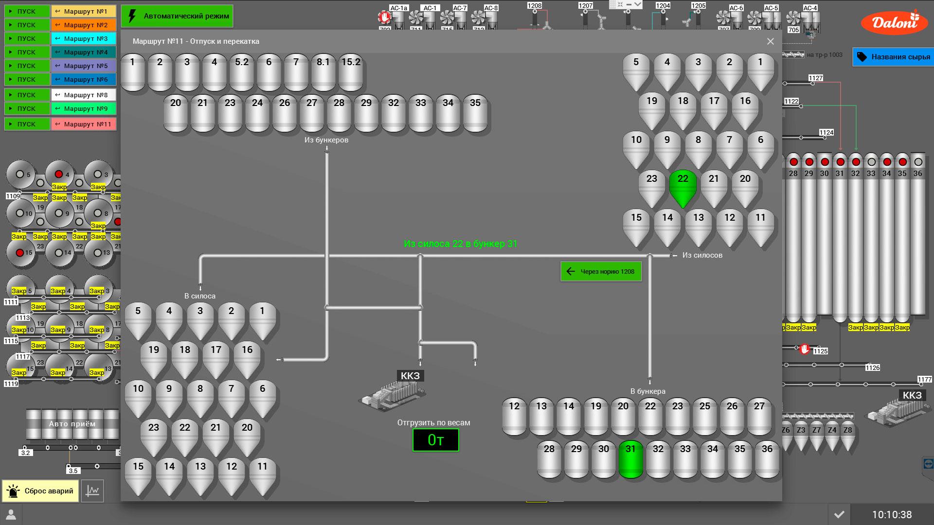 Модернизация элеватора Simple-Scada